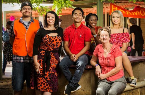 Photos of Harmony Day at Cyril Jackson Senior Campus in Bassendean, Perth 210318.